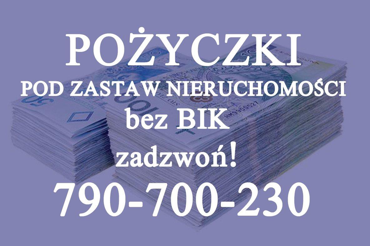 Pożyczki, zabezpieczenie na nieruchomości od 15 tys. zł