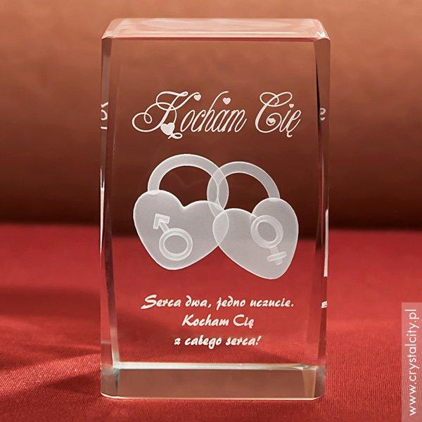 Podaruj Dwa Serca 3D jako prezent na Walentynki!