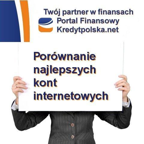 Polecamy bezpłatne internetowe rachunki bankowe