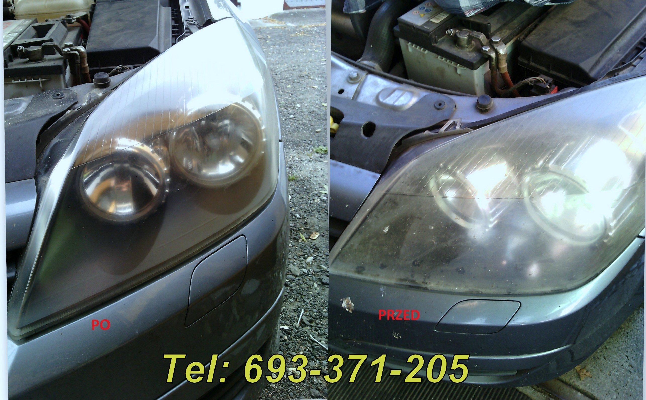 Polerowanie lamp samochodowych oraz karoserii pojazdu