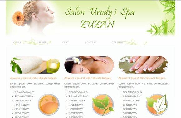 Profesjonalne autorskie strony www dla kosmetyczek.