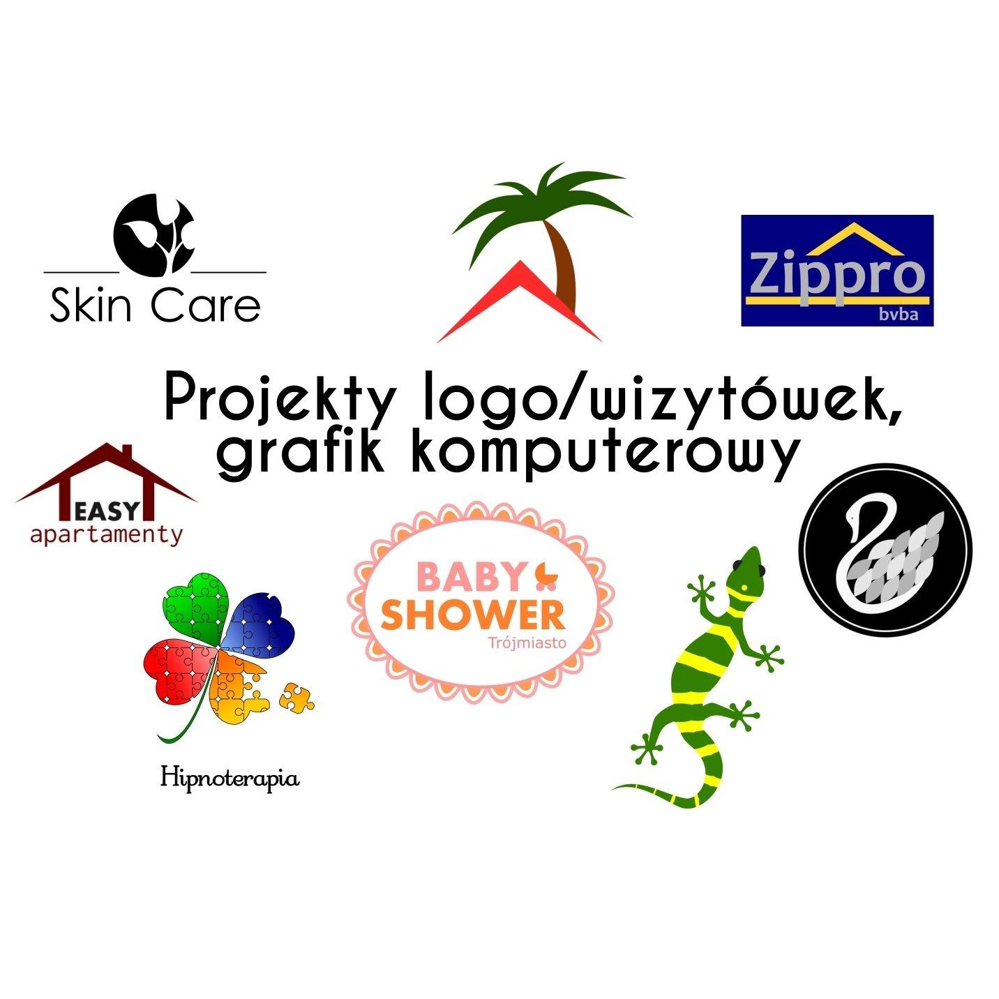 Projekty graficzne logo/wizytówek dla Twojej firmy!