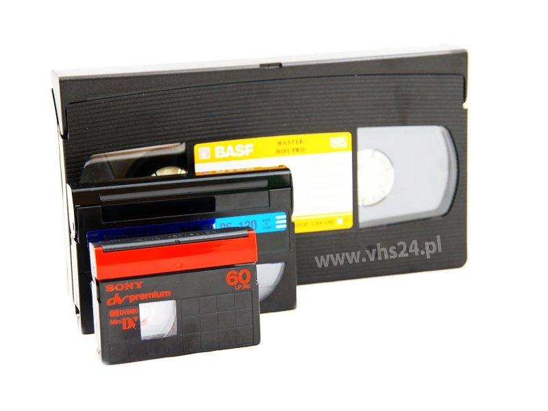 Przegrywanie vhs na dvd niezależnie od długości oraz typu taśmy 15 zł