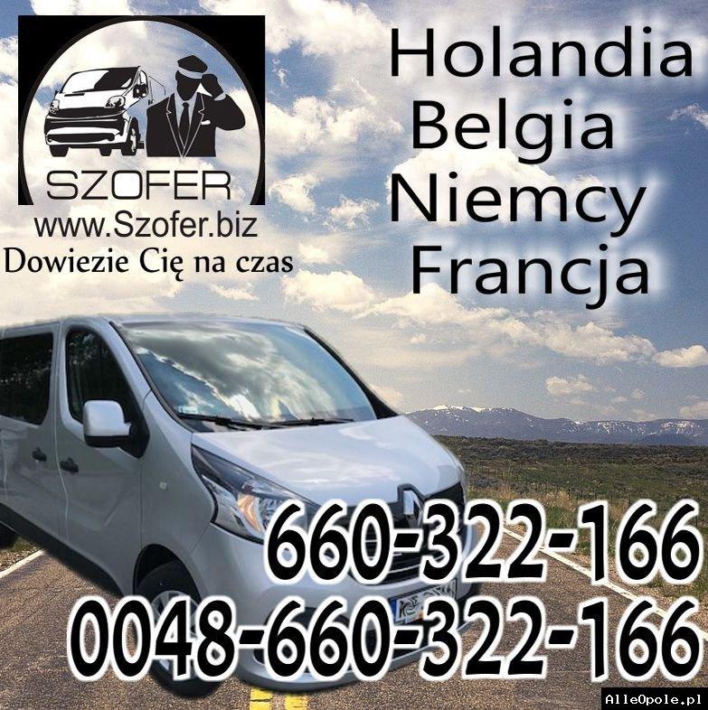 Przewóz osób do Holandii i do Polski: szybko, bezpiecznie, jak VIP