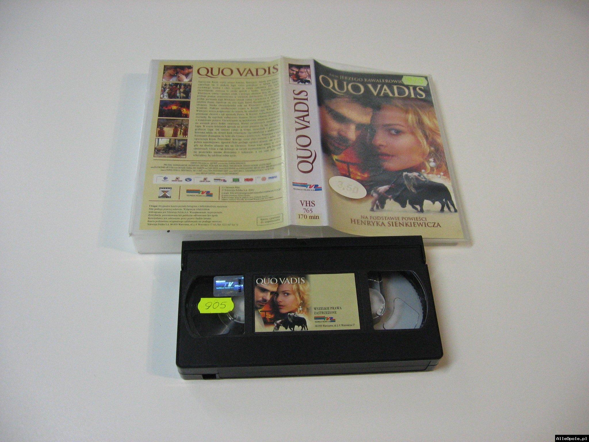 QUO VADIS - VHS Kaseta Video - Opole 1764