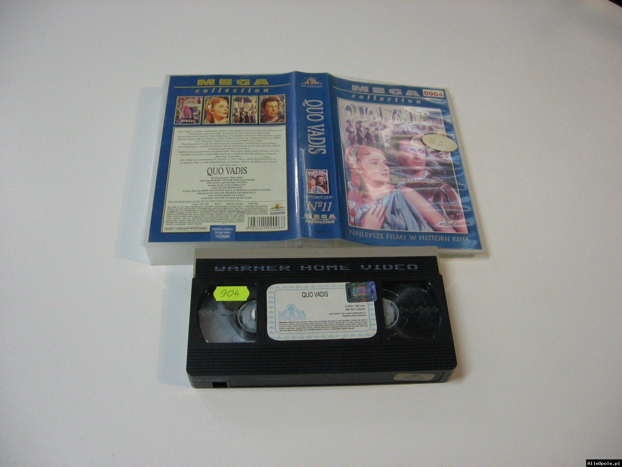 QUO VADIS - VHS Kaseta Video - Opole 1765