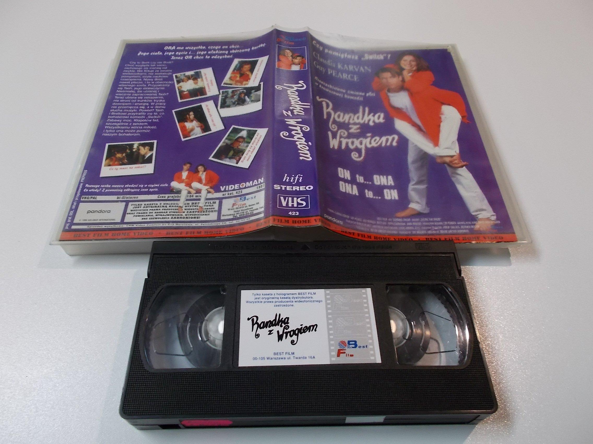 RANDKA Z WROGIEM - kaseta Video VHS - 1424 Sklep