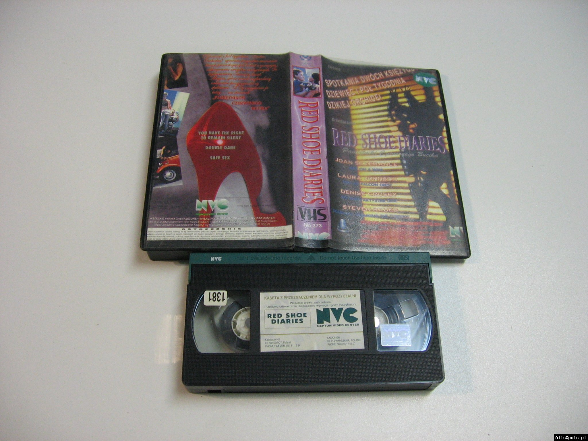 RED SHOE DIARIES - VHS Kaseta Video - Opole 1839