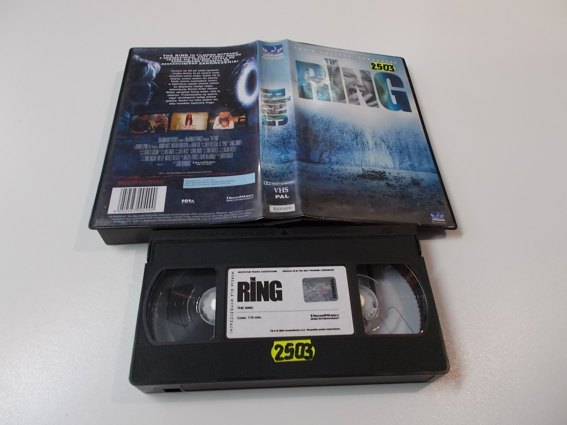 RING - Kaseta Video VHS - Opole 1571