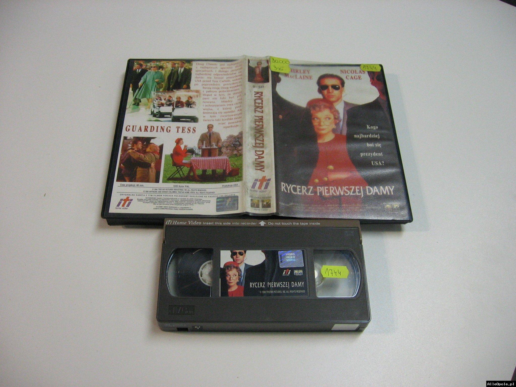 RYCERZ PIERWSZEJ DAMY - VHS Kaseta Video - Opole 1825