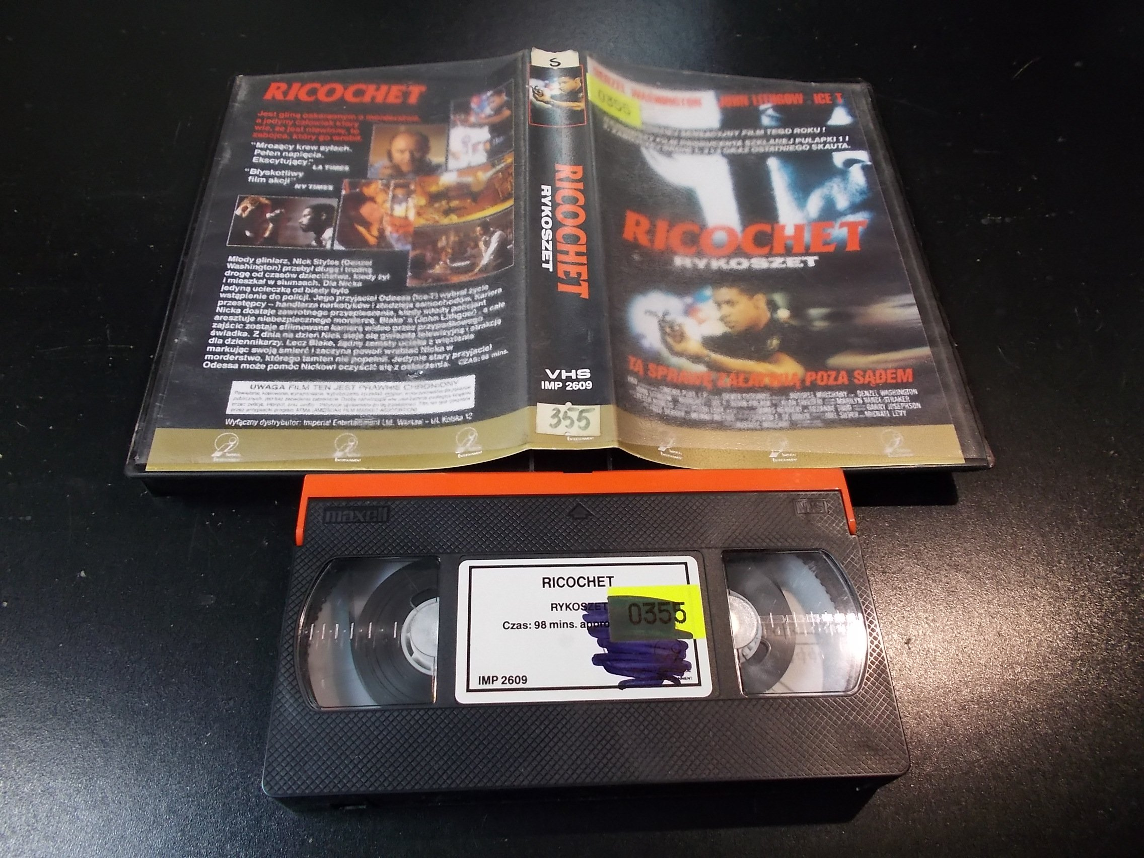 RYKOSZET - kaseta Video VHS - 1392 Sklep