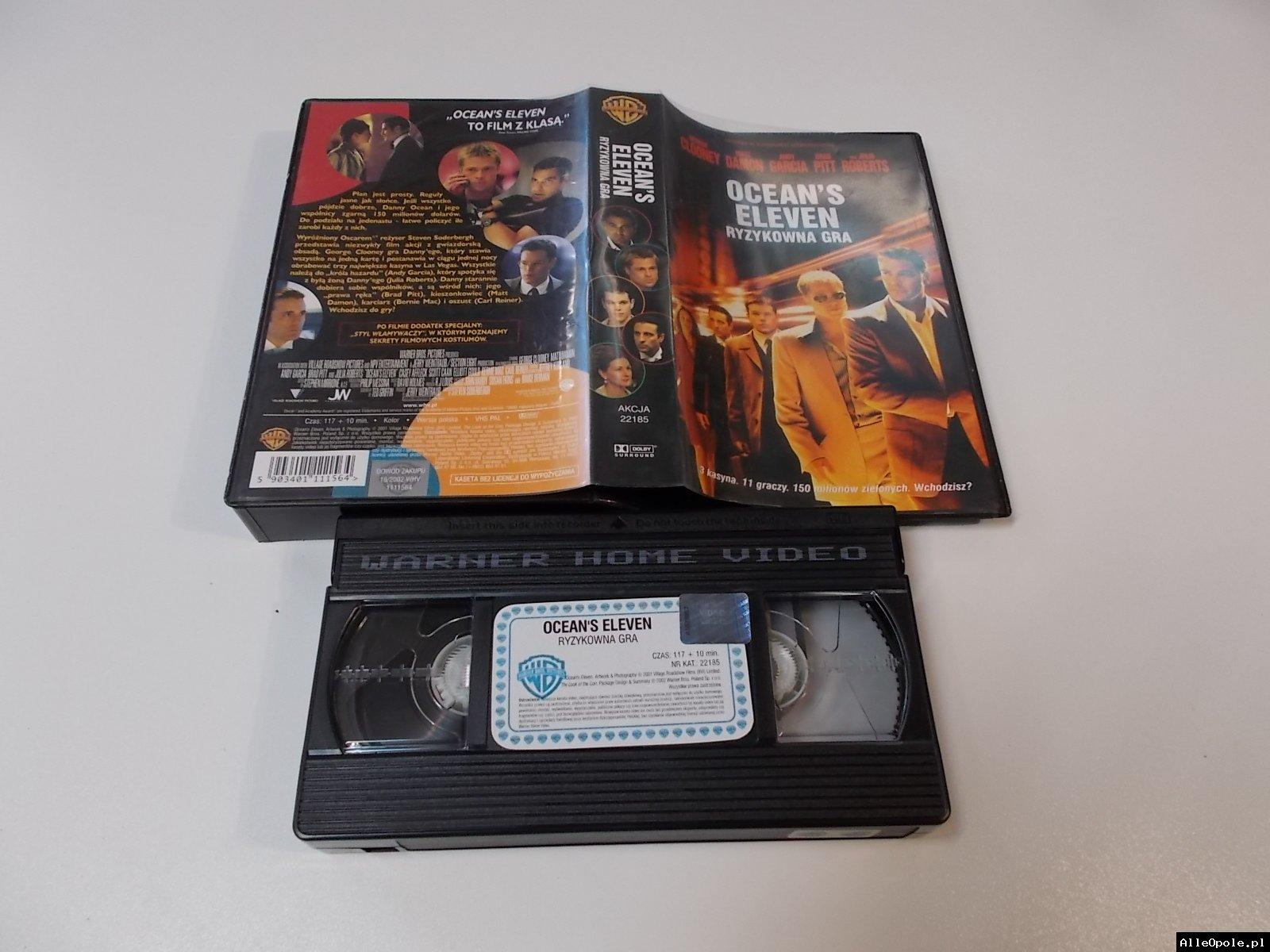 RYZYKOWNA GRA - VHS Kaseta Video - Opole 1715