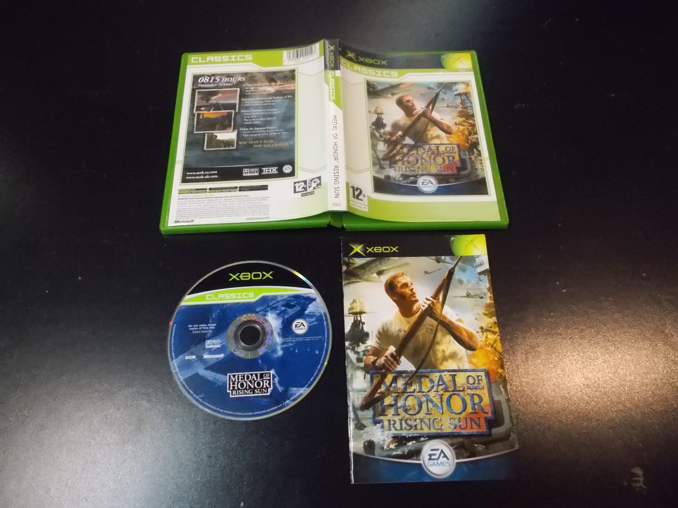 Medal of Honor: Rising Sun - GRA Xbox Classic