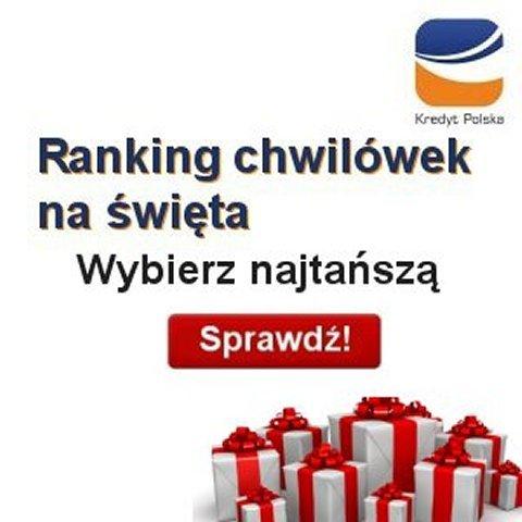 Ranking świątecznych pożyczek pozabankowych