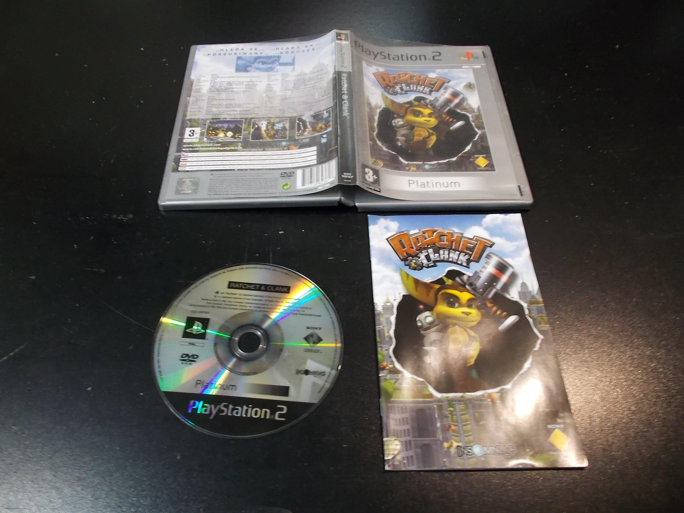 Ratchet & Clank - GRA Ps2 - Sklep