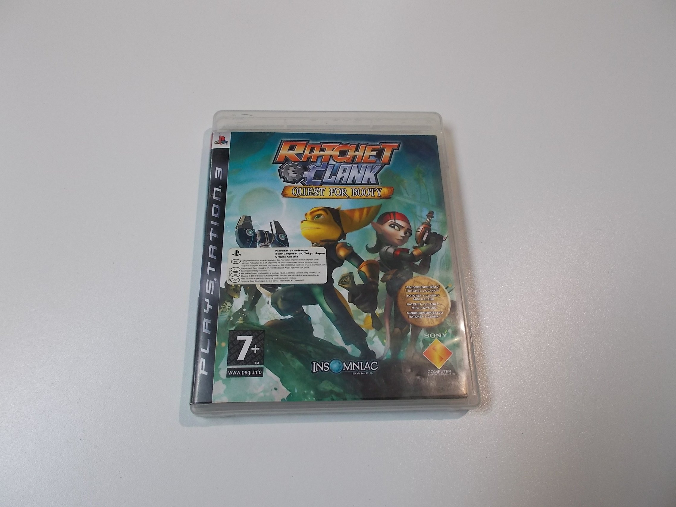 Ratchet & Clank Quest for Booty - GRA Ps3 - Sklep