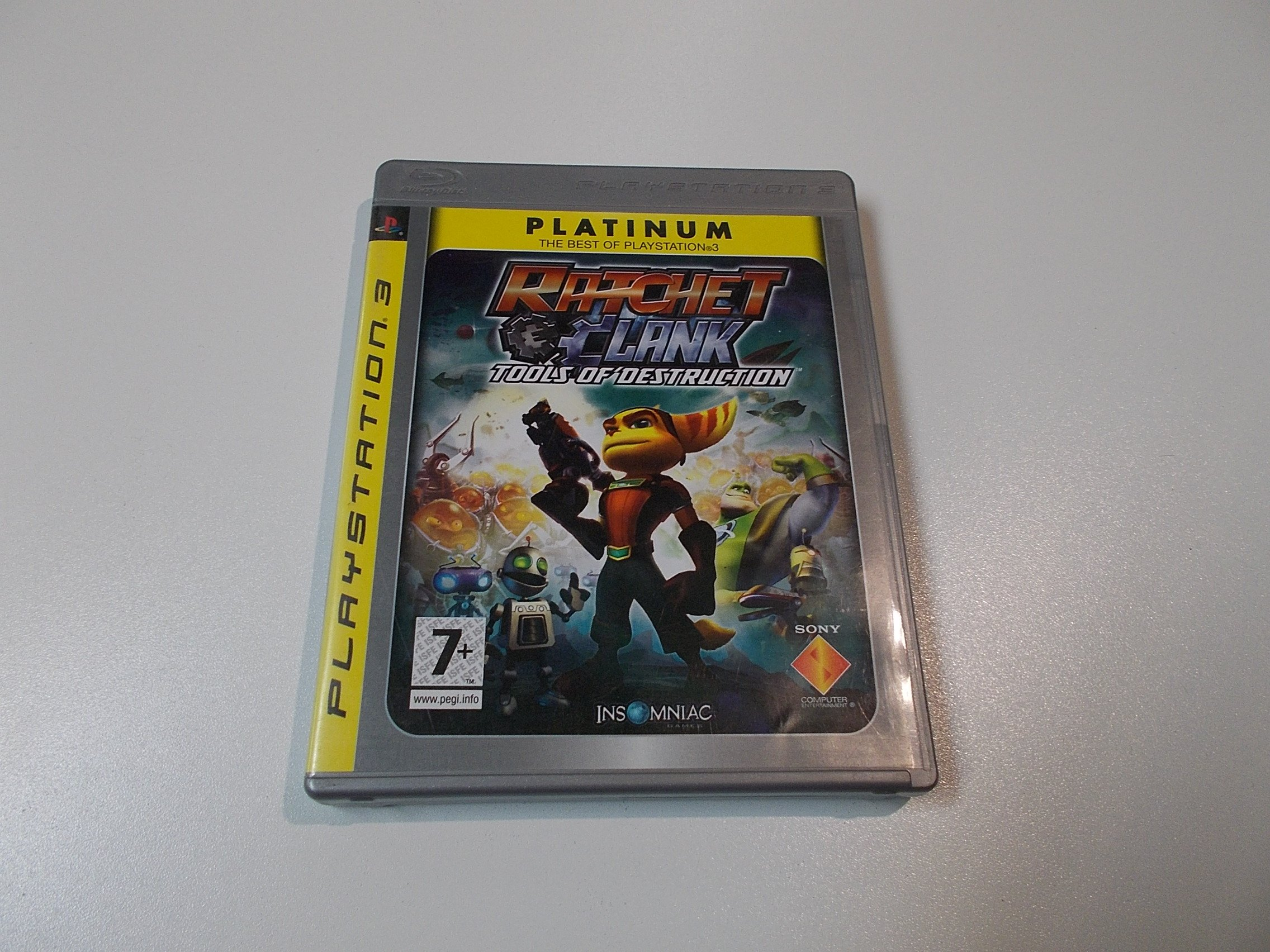 Ratchet Clank Tools of Destruction - GRA Ps3 - Sklep