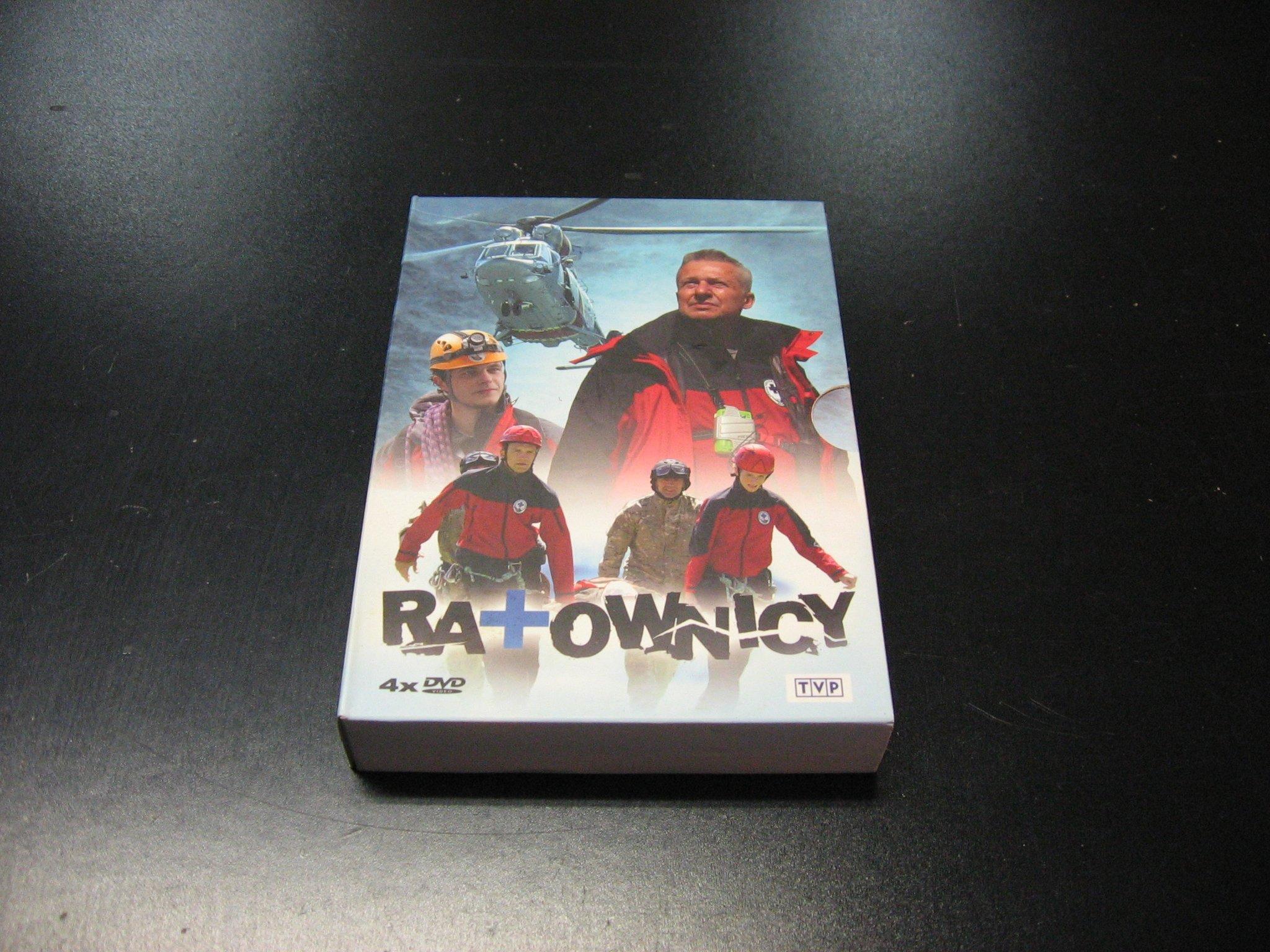 Ratownicy -  Boguslaw Linda - Wojciech Saramonowicz (4DVD) - Sklep
