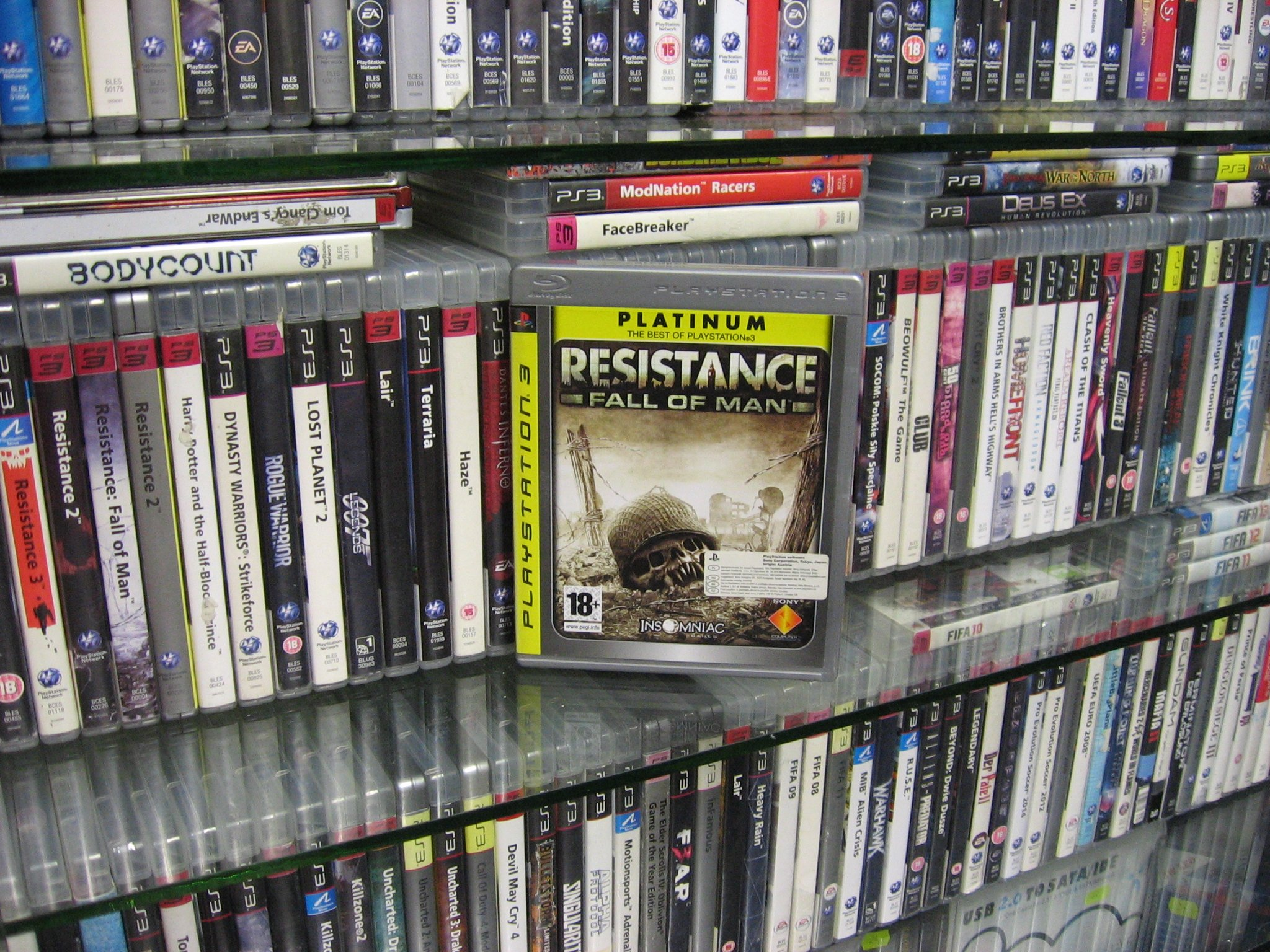 Resistance - Fall of Man - GRA PS3 Opole 0027
