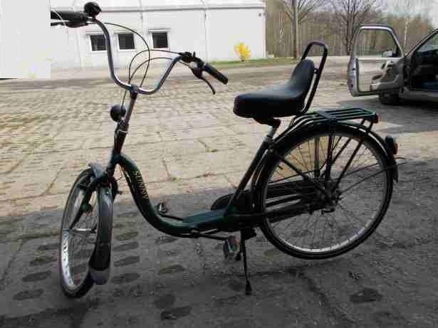 Rower miejski holenderski z przerzutkami