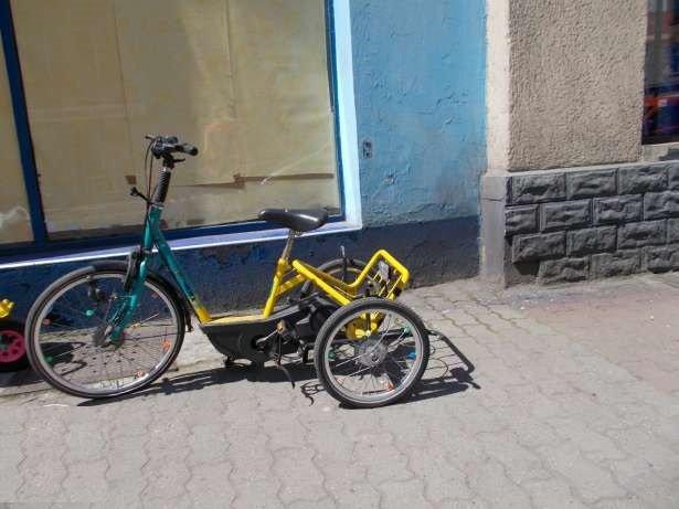 Rower trójkołowy dla dziecka niepełnosprawnego