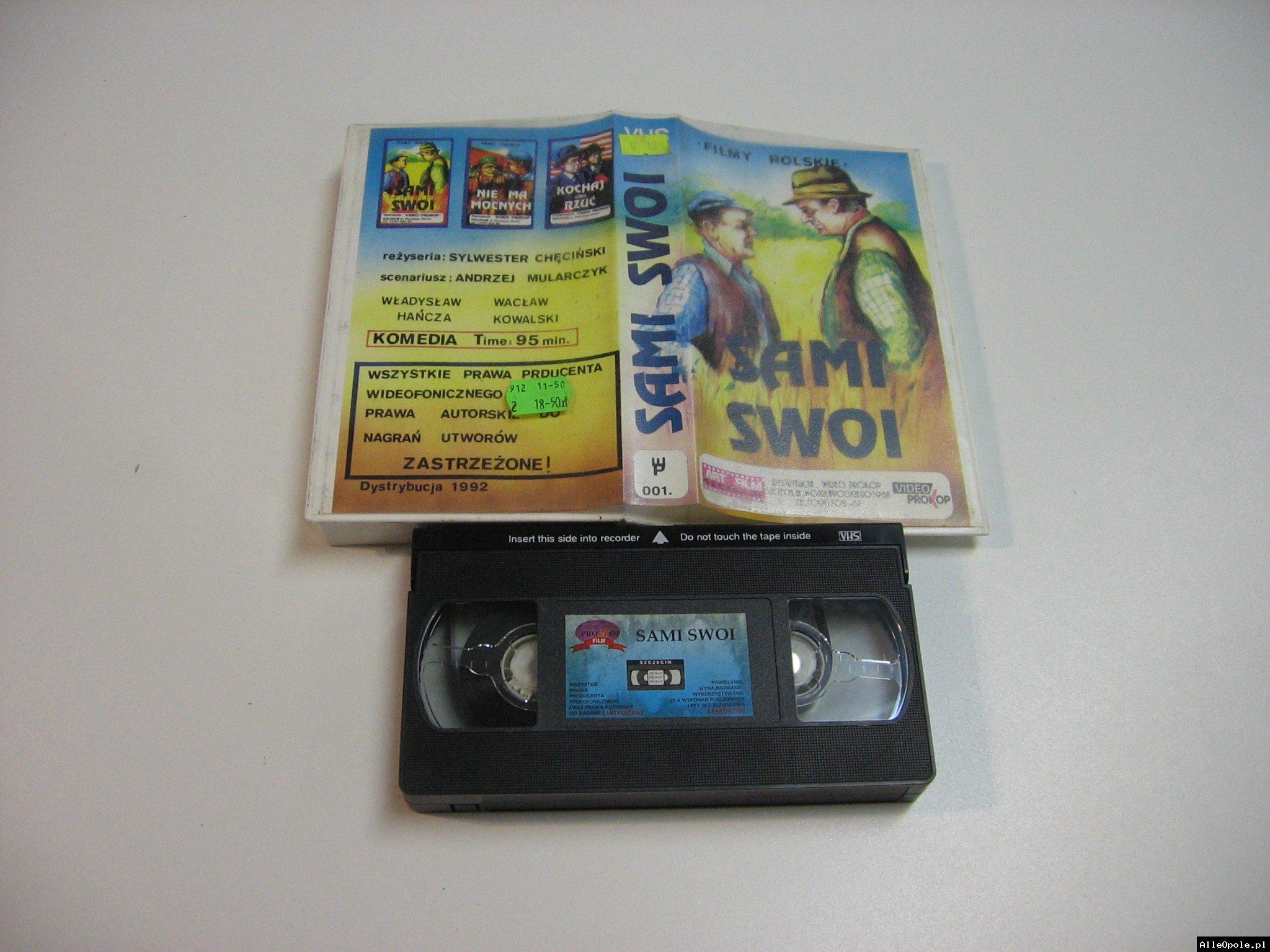 SAMI SWOI - VHS Kaseta Video - Opole 1799