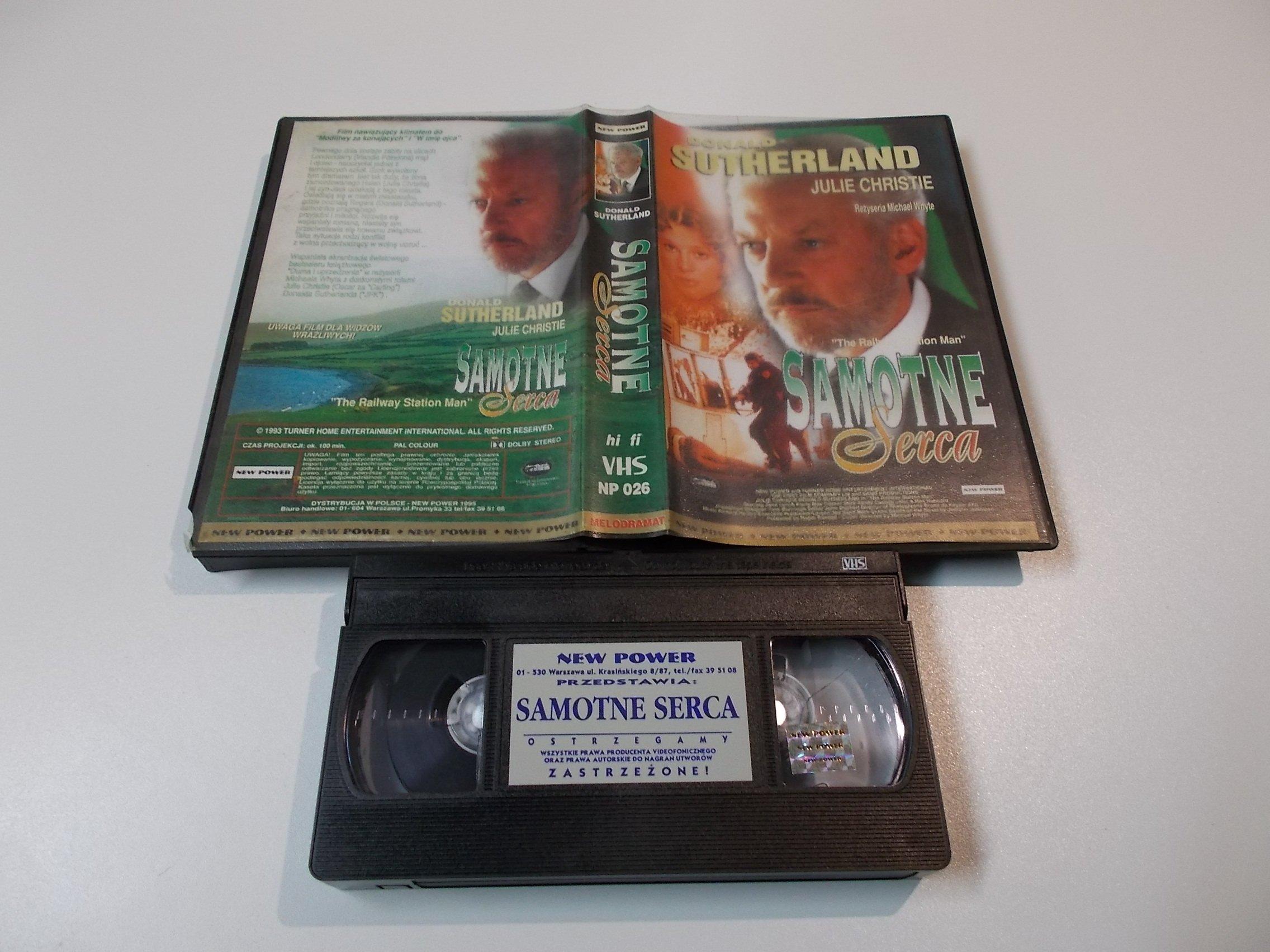 SAMOTNE SERCA - kaseta Video VHS - 1452 Sklep
