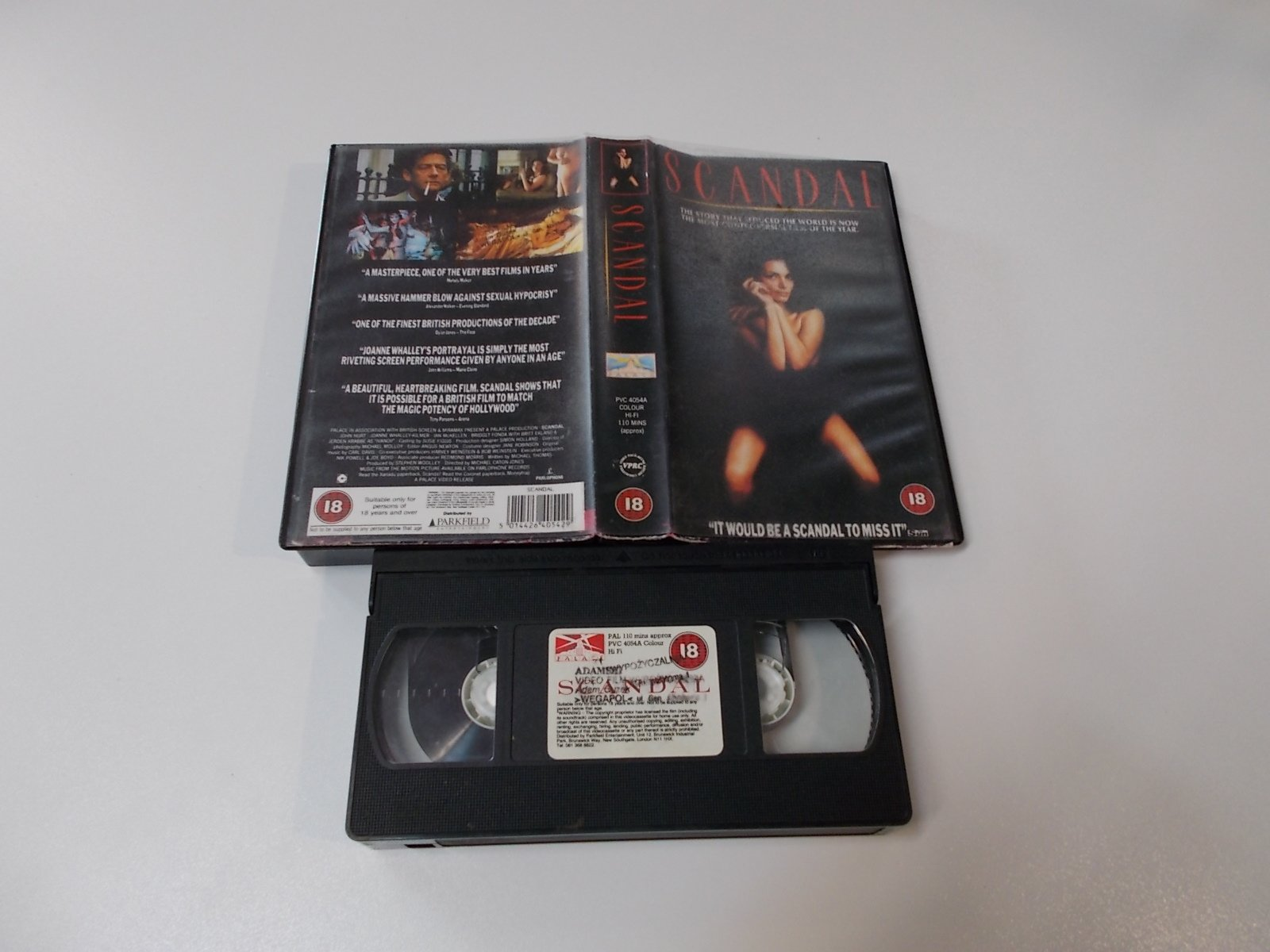 SCANDAL - VHS Kaseta Video - Opole 1672