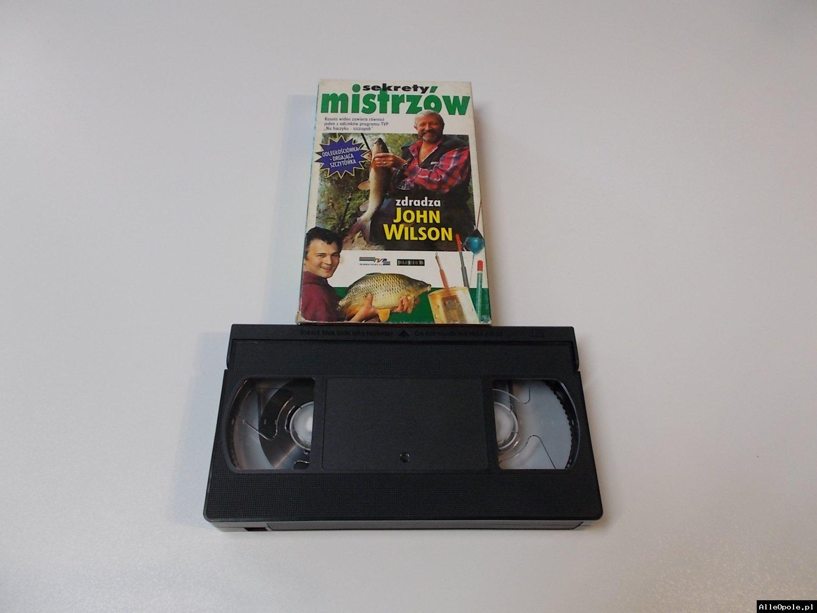 SEKRETY MISTRZÓW ODLEGŁOŚCIÓWKA - VHS Kaseta Video - Opole 1697