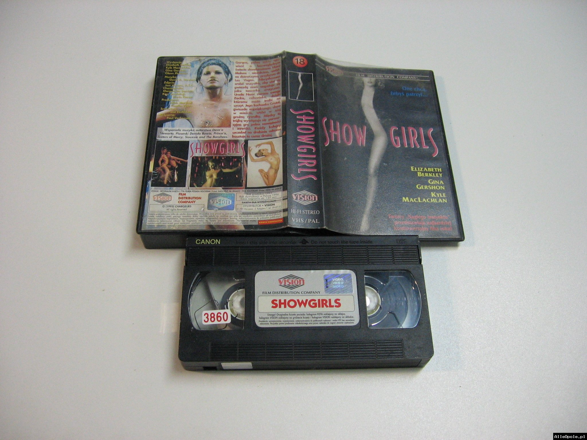 SHOWGIRS - VHS Kaseta Video - Opole 1846