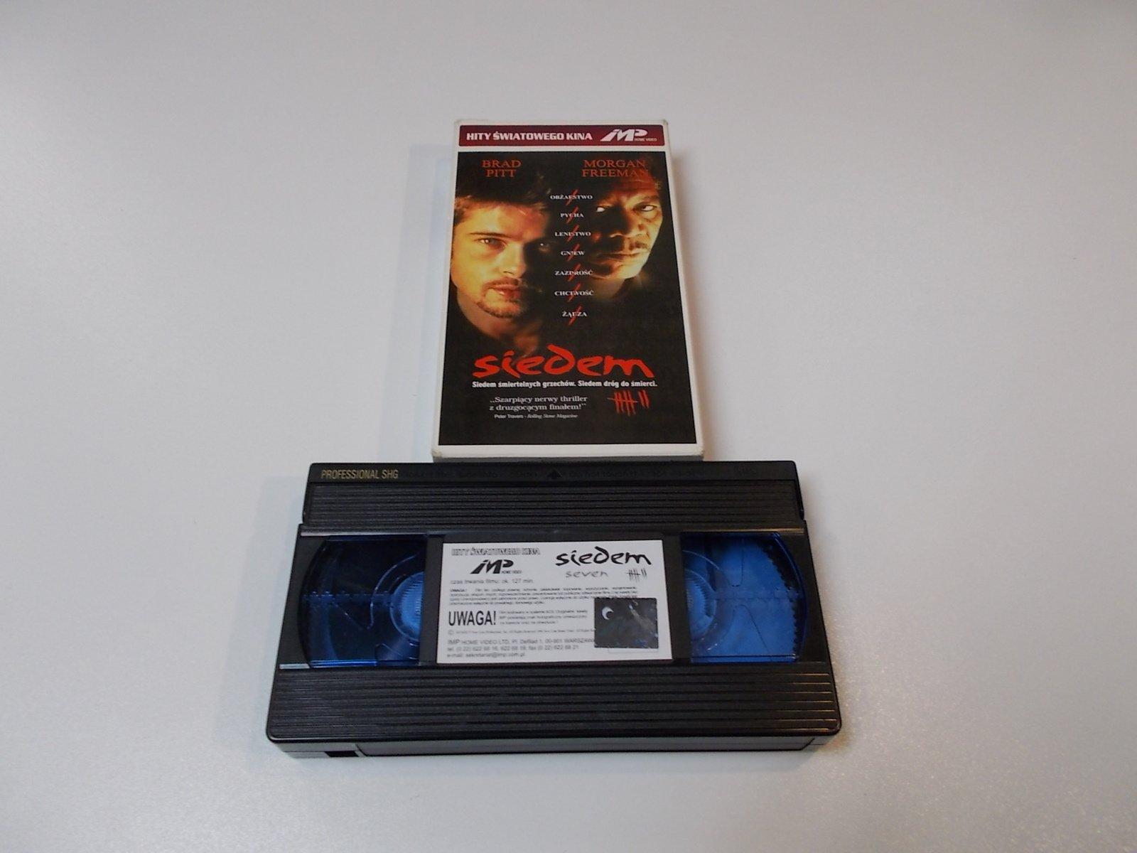 SIEDEM - VHS Kaseta Video - Opole 1693