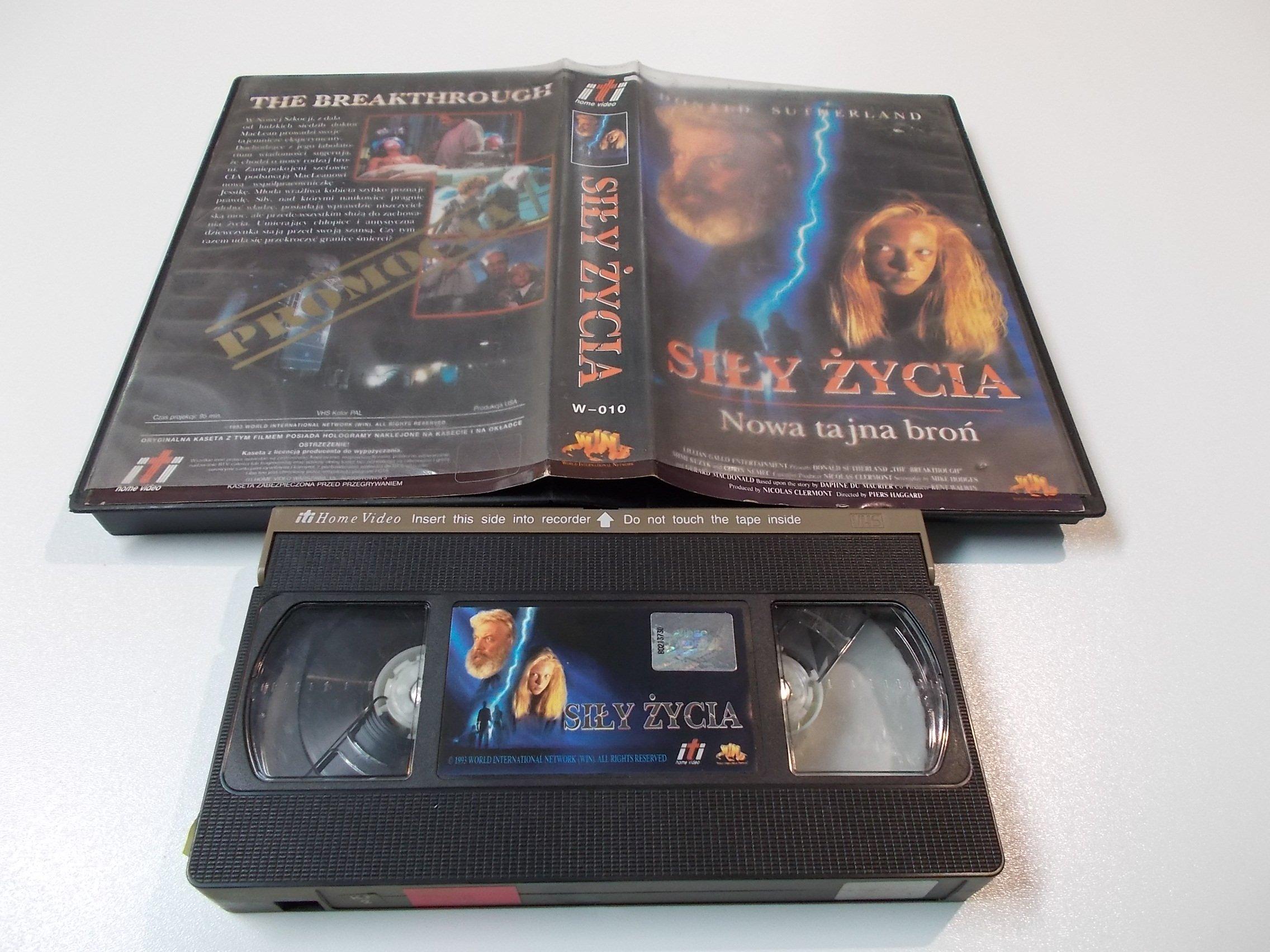 SIŁY ŻYCIA - kaseta Video VHS - 1420 Sklep