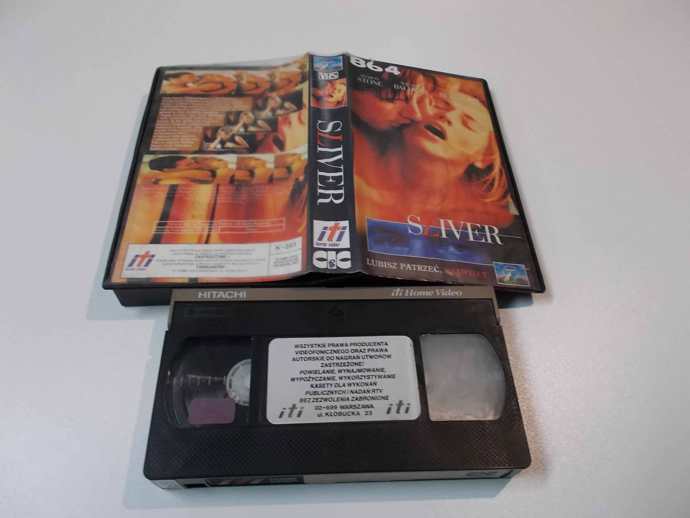 SLIVER -  kaseta Video VHS - 1465 Sklep
