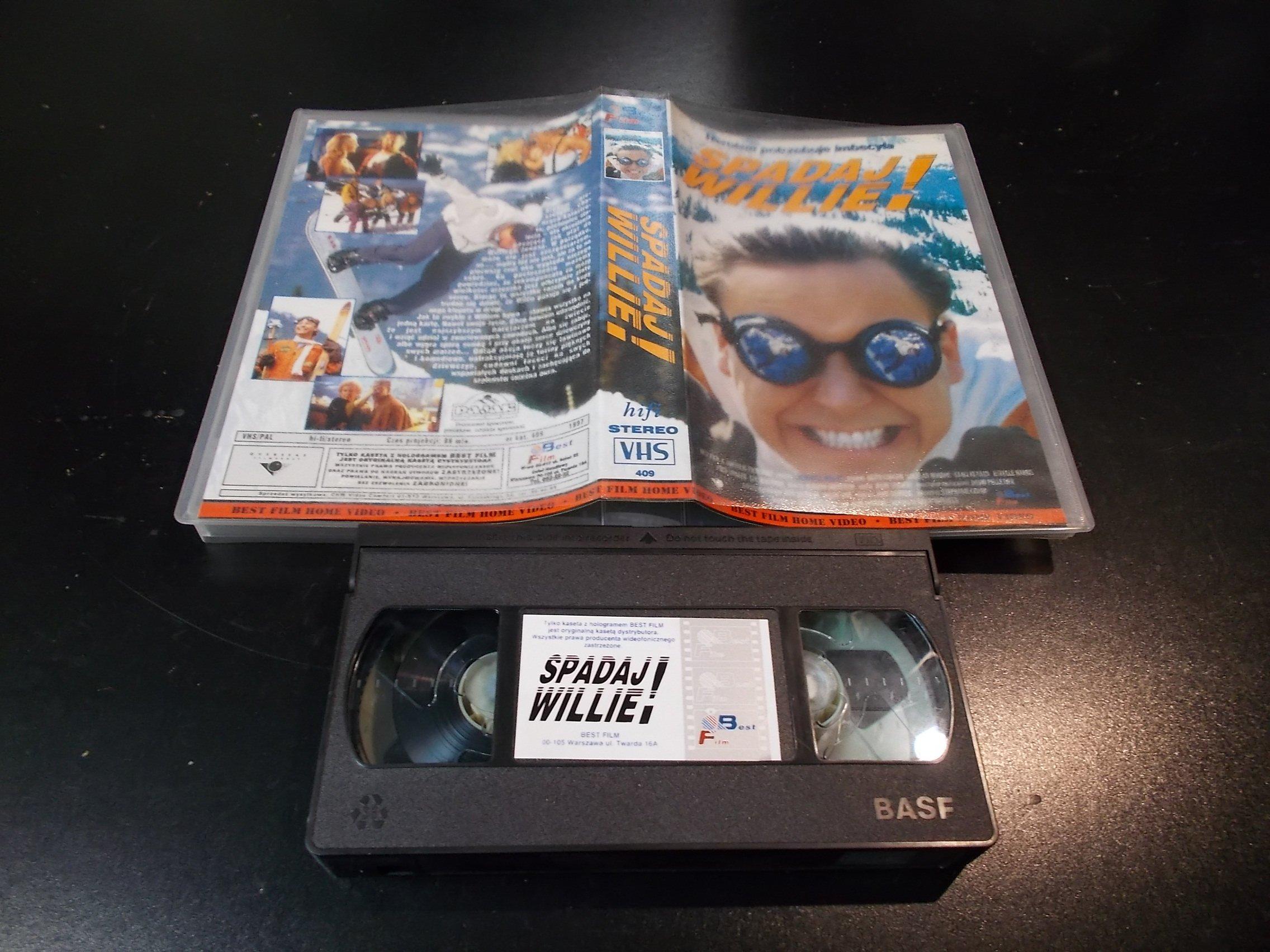 SPADAJ WILLIE - kaseta Video VHS - 1401 Sklep