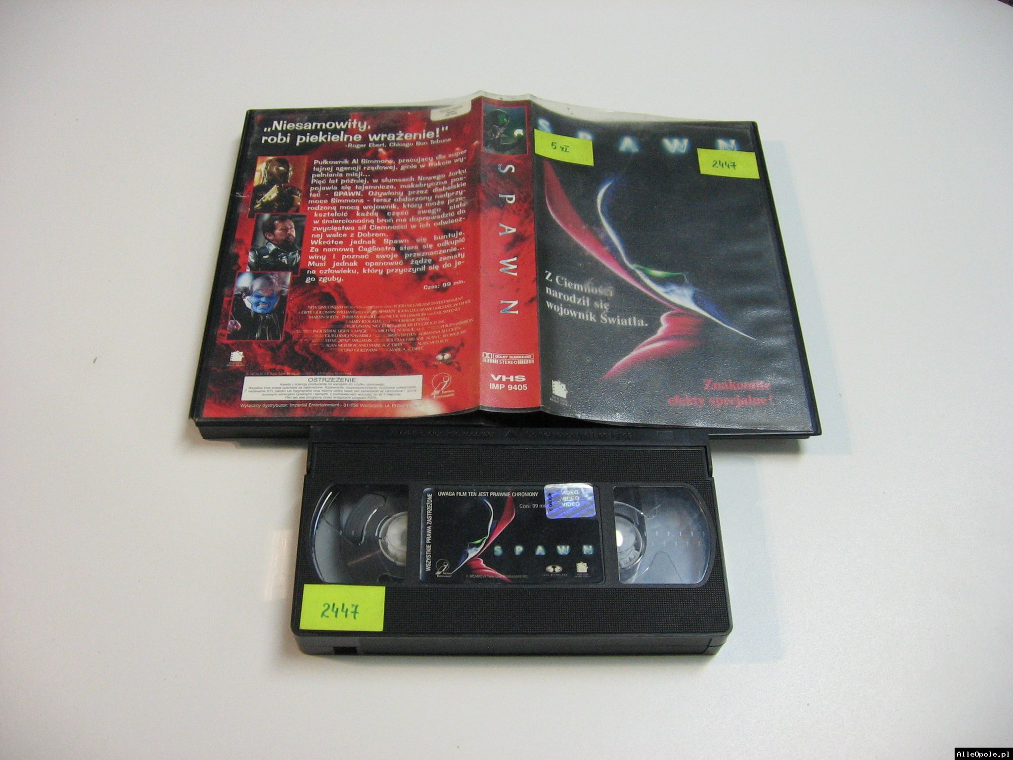 SPAWN - VHS Kaseta Video - Opole 1828