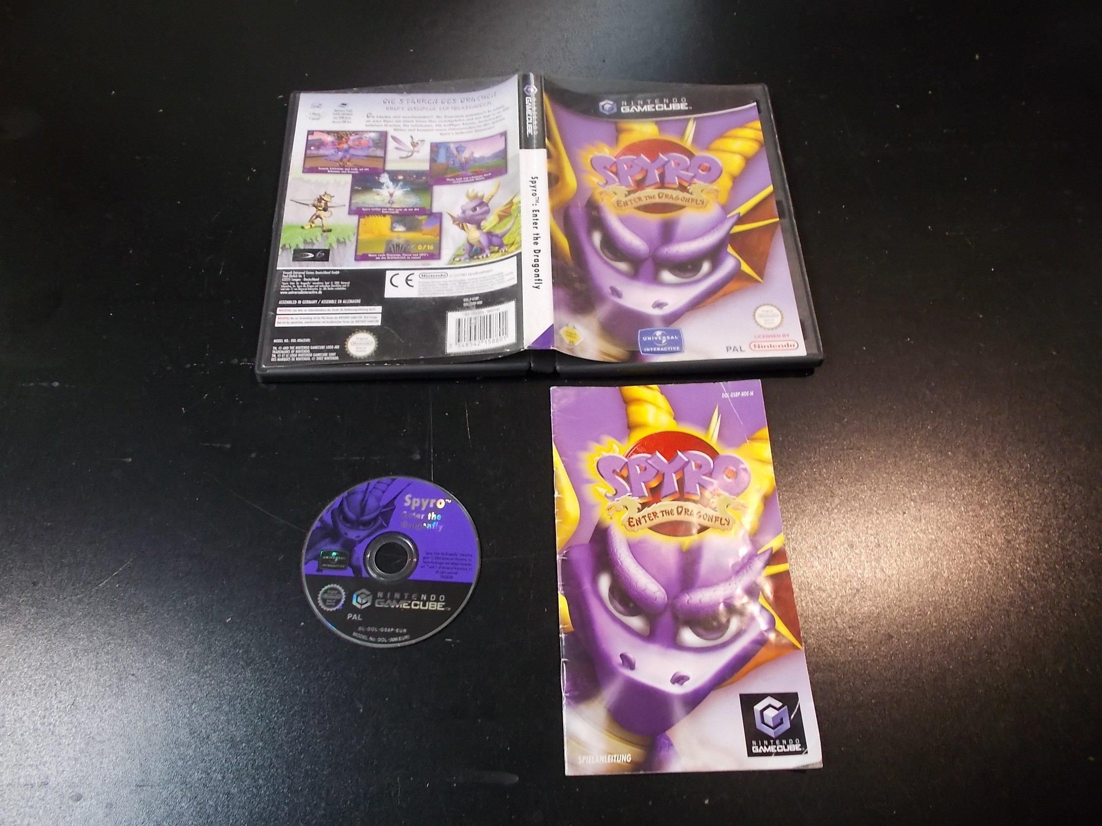 SPYRO Enter the Dragonfly - GRA Nintendo GameCube Sklep