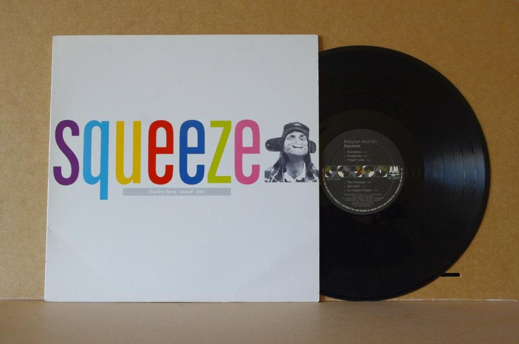 SQUEEZE BABYLON AND ON LP 0444