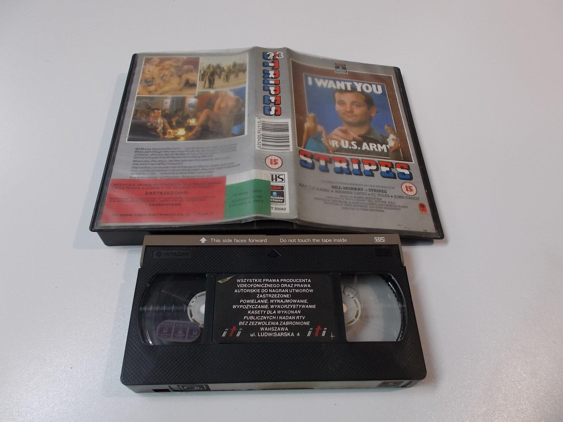 STRIPES - Kaseta Video VHS - Opole 1530