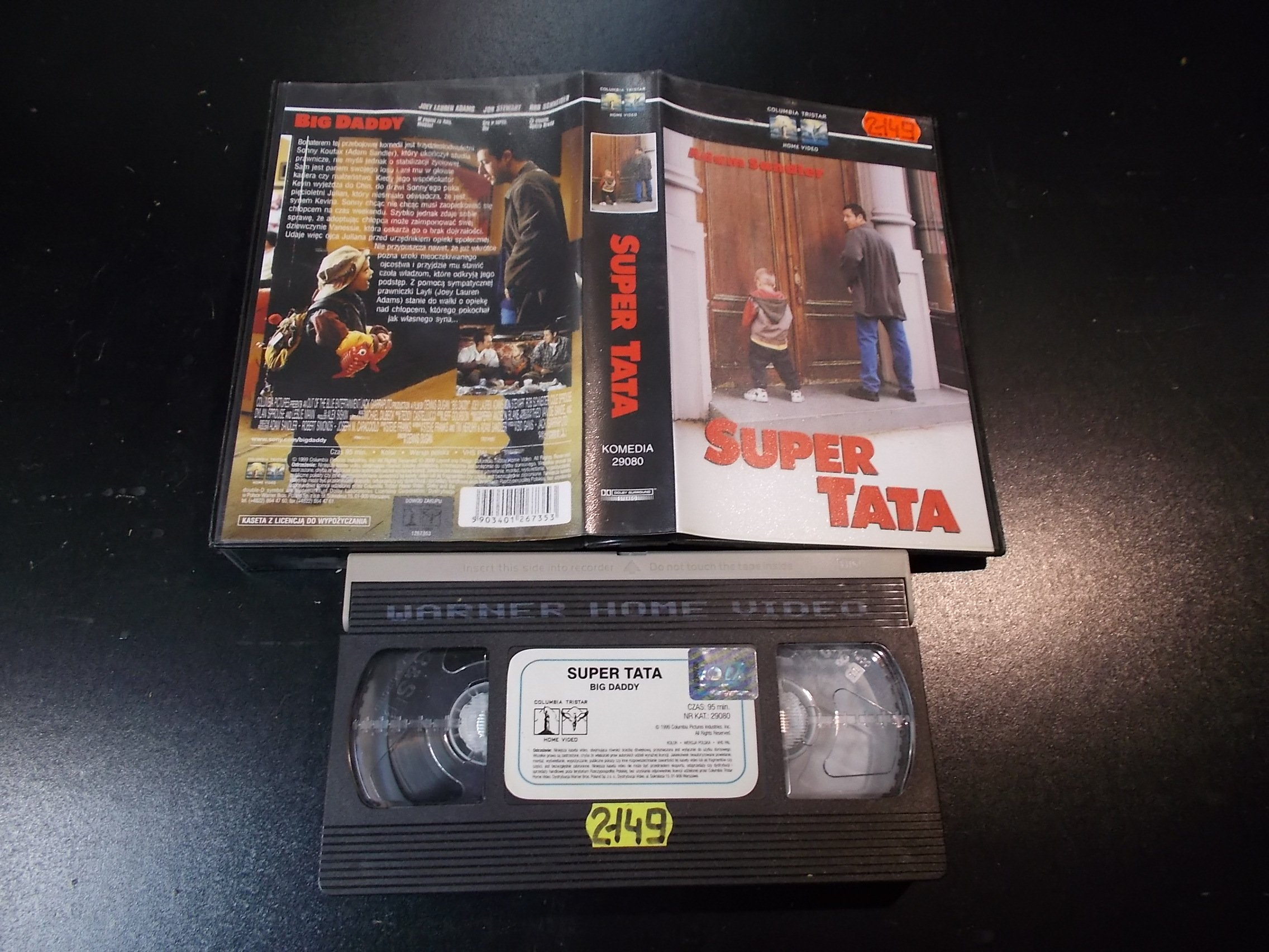 SUPER TATA - kaseta Video VHS - 1366 Sklep