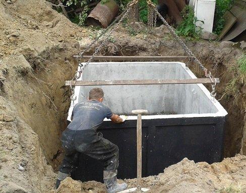 SZAMBA BETONOWE 4m3,zbiornik na ścieki / szambo, deszczówkę, gnojówkę i gnojowicę.