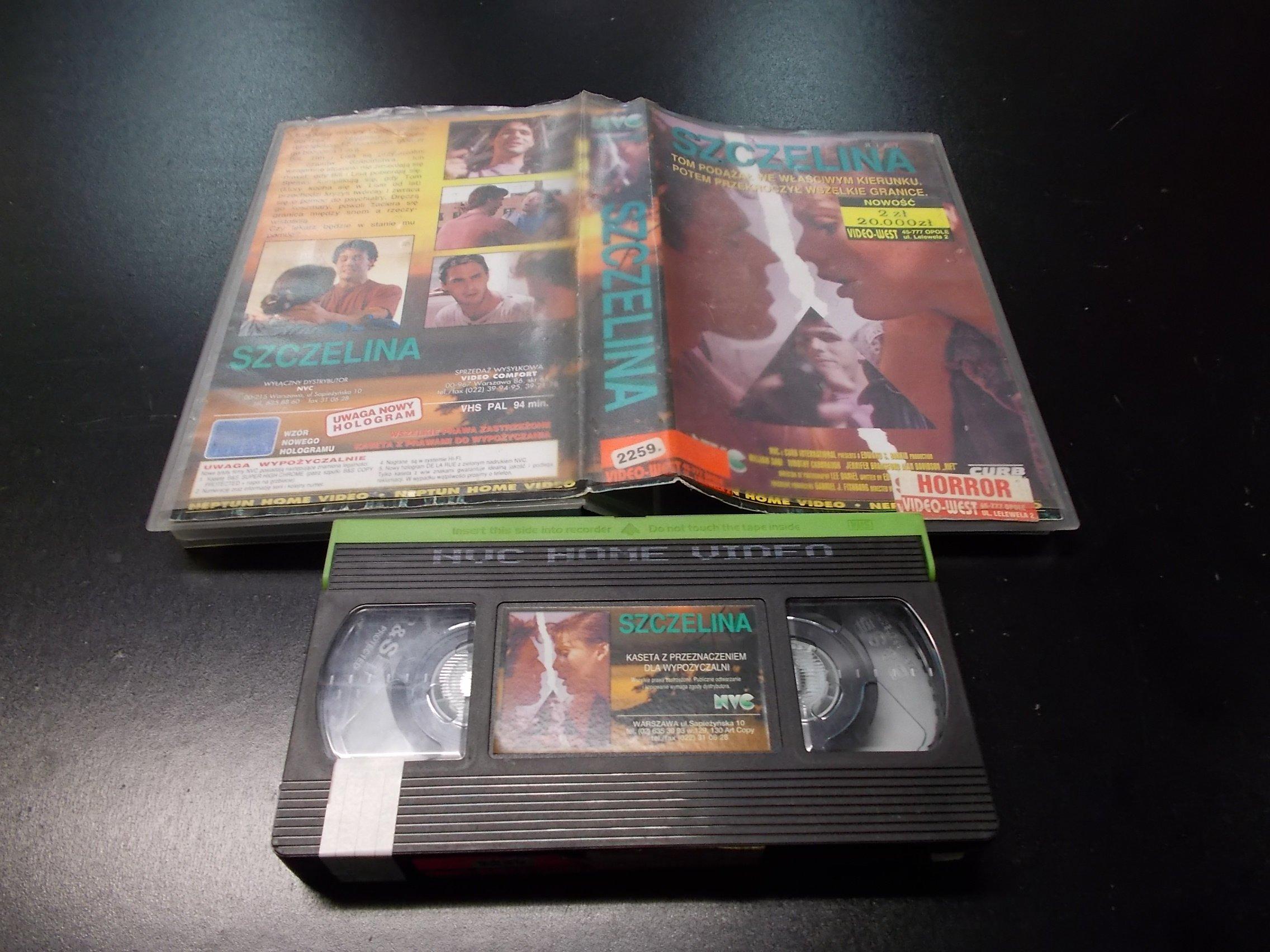 SZCZELINA -  kaseta VHS - 1194 Opole - AlleOpole.pl