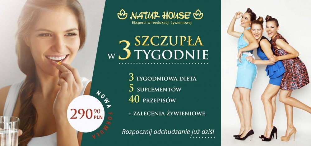 SZCZUPŁA W 3-TYGODNIE (Opole, ul.Kołłątaja 19)