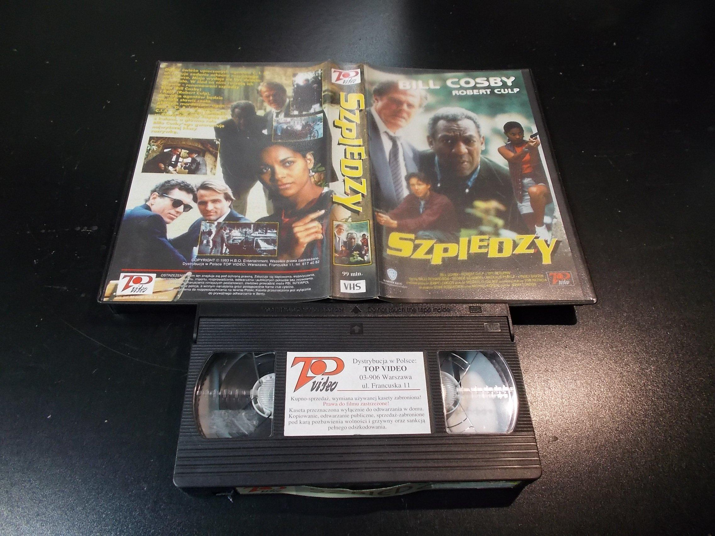 SZPIEDZY - kaseta Video VHS - 1403 Sklep