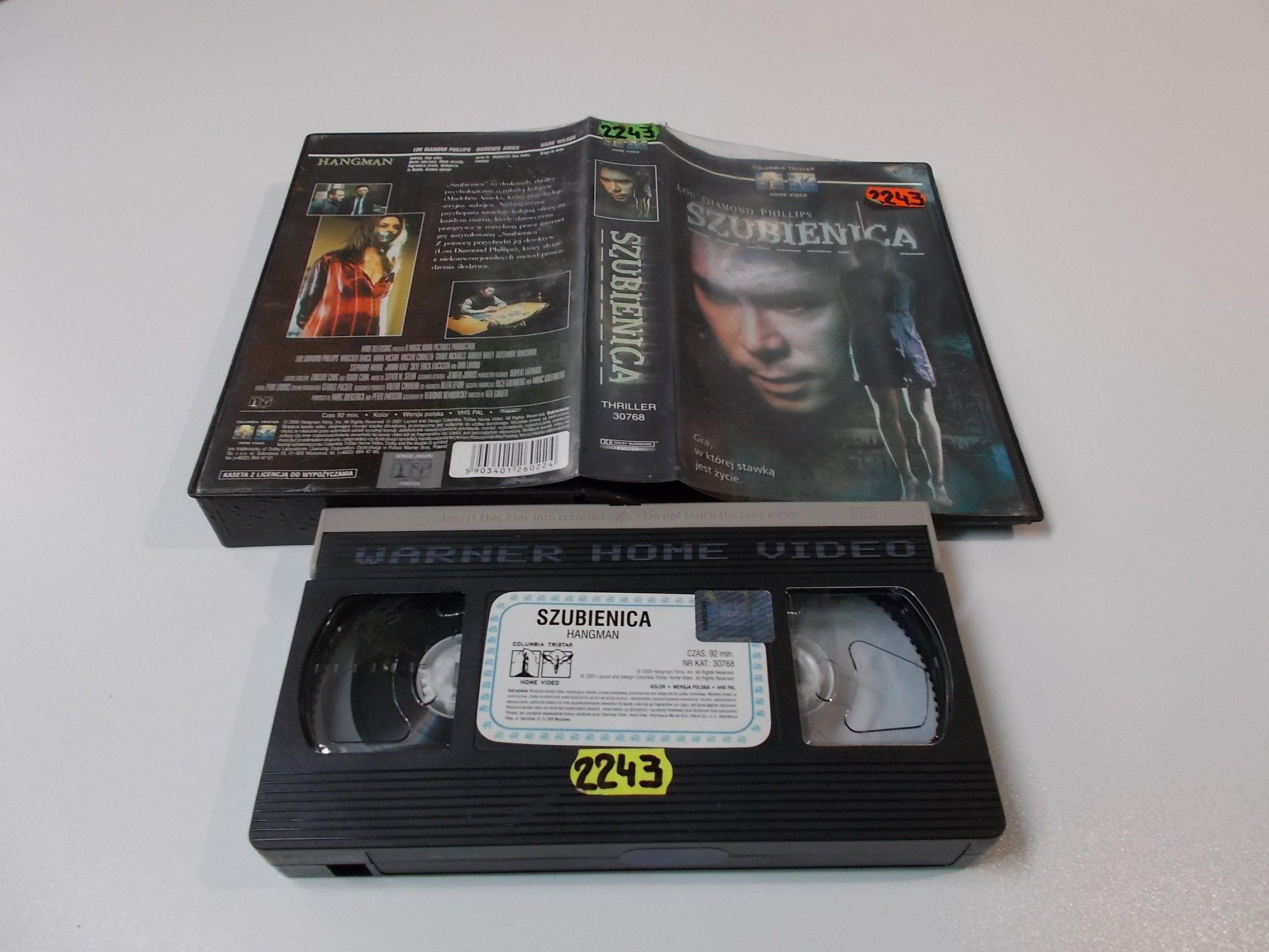 SZUBIENICA - VHS Kaseta Video - Opole 1602