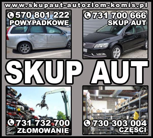 Skup samochodów za gotówkę ! KAŻDE AUTO - DZWOŃ