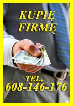 Skupujemy Spółki z długami w Upadłości 608-146-176