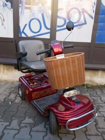 Skuter elektryczny ShopRider dla osoby starszej lub niepełnosprawnej