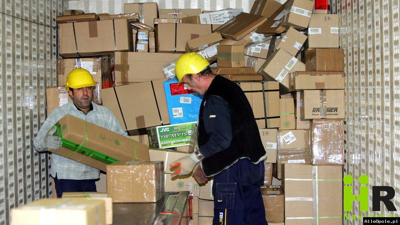 Sortowanie paczek w GLS Germany