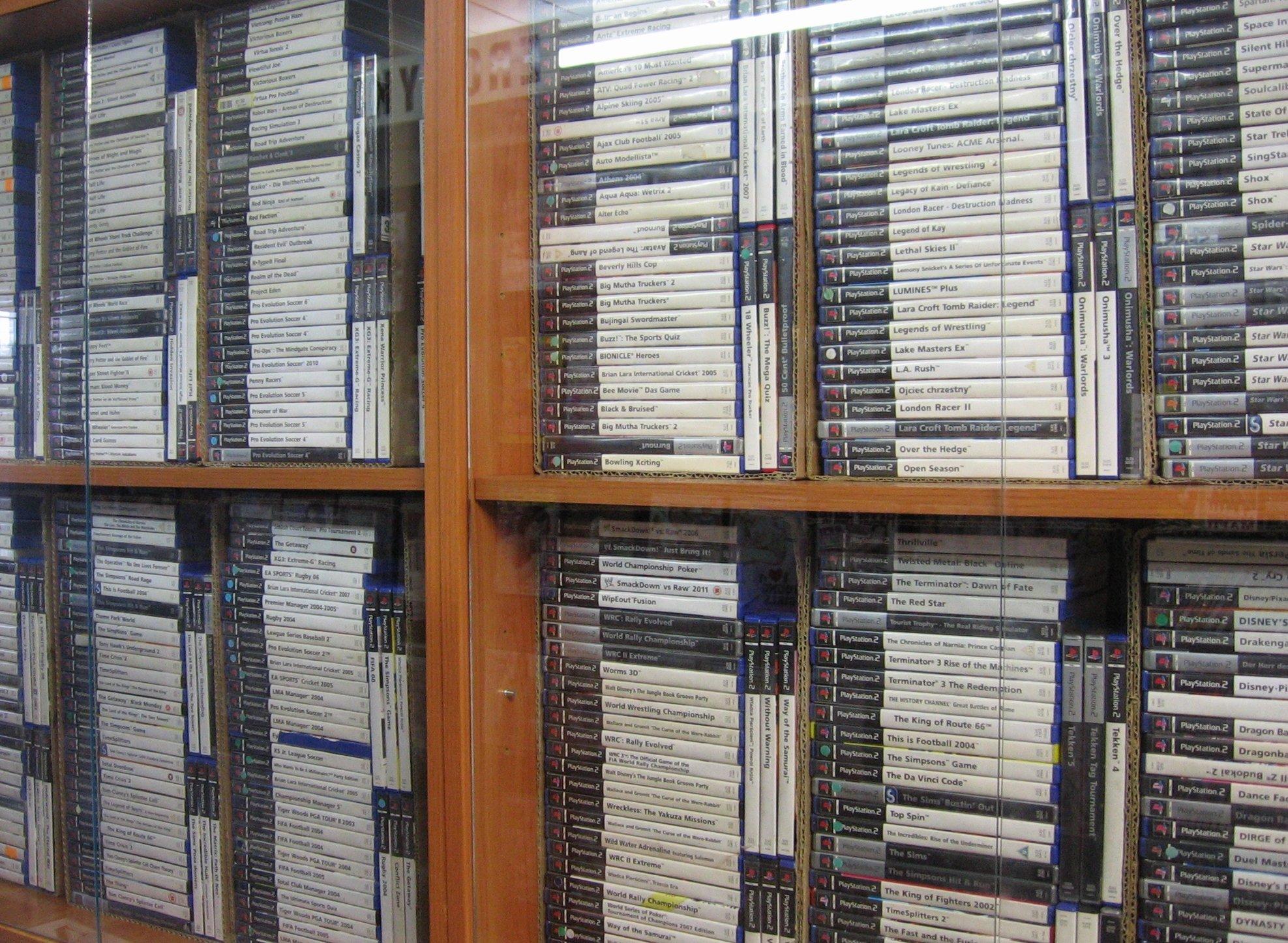 Sprzedaż i wymiana gier na konsole PS2 - Opole - AlleOpole.pl