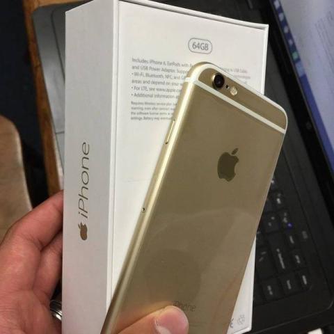 Sprzedam iPhone 6 64GB złoty.